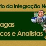 Concurso Ministério da Integração Nacional 2013: Edital, Gabarito, Resultado