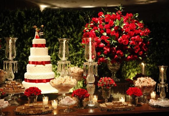 Decoração Casamento em Vermelho Dicas e Modelos