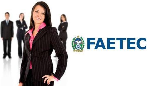 Inscrições FAETEC RJ 2014