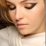 Maquiagem Dourada para os Olhos – Fotos, Passo a Passo