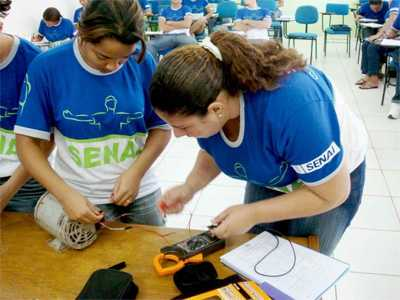 Cursos Técnicos Gratuitos SENAI 2014: Inscrições