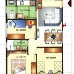 Projetos para Casas de 3 Quartos: Modelos, Detalhes