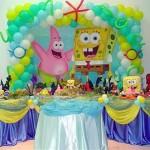 Decoração Festa Bob Esponja Aniversário Infantil: Modelos de Bolos, Convites, Mesa