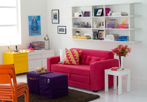 Salas Coloridas Decoradas: Dicas, Fotos