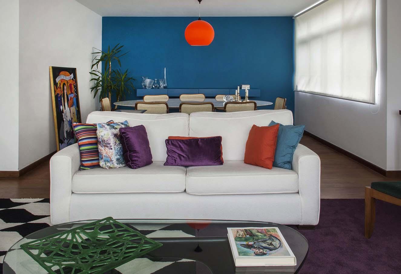 Salas coloridas decoradas dicas fotos - Fotos d salas ...