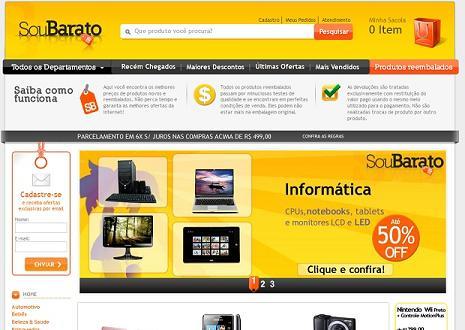 Site de compras online seguro e barato