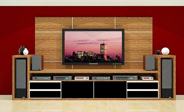 Modelos de estantes para sala dicas fotos for Modelos de modulares para sala