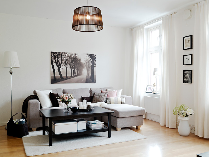 Decoracao de sala simples e bonita – doitri.com