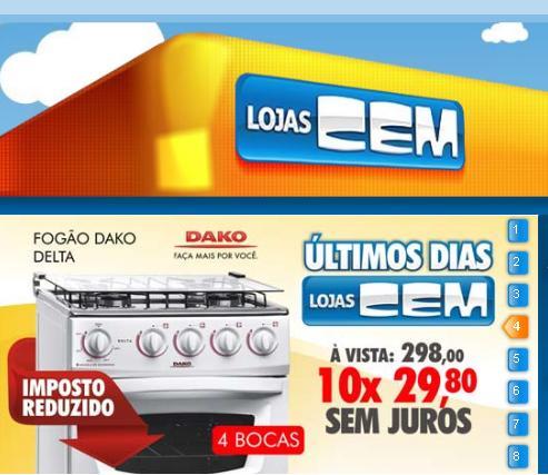 ofertas-eletrodomésticos-Lojas-Cem