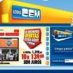 Site Lojas CEM – www.lojascem.com.br
