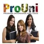 Site do ProUni – www.prouni.mec.gov.br