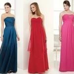 Vestidos para Madrinhas de Casamento, Tendências 2013