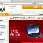 www.taqi.com.br, Site Lojas TaQi