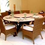 Sala de Jantar, Qual a Melhor Mesa: Redonda ou Quadrada – Fotos, Dicas